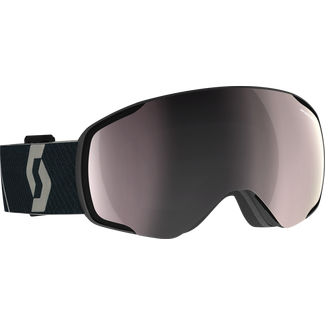 SCOTT Vapor Skibrille mountain black enh sil chr