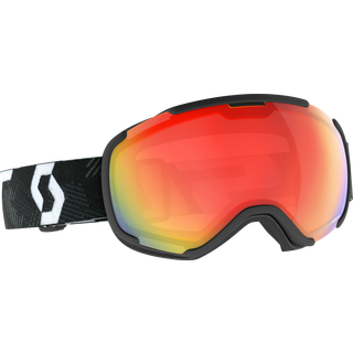 SCOTT Faze II LS Skibrille team black-white
