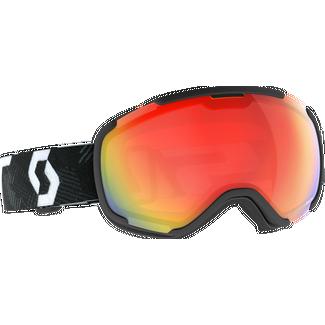 SCOTT Faze II LS Skibrille team black-white
