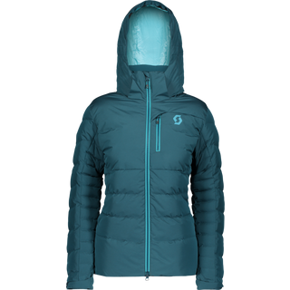 SCOTT Ultimate Daunenjacke Damen majolica blue