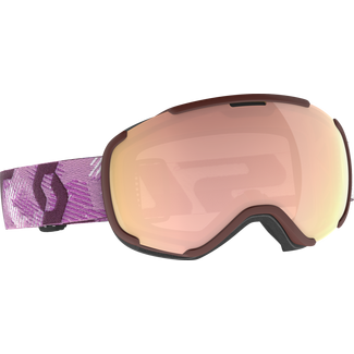 SCOTT Faze II Skibrille white-cassis pink