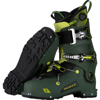 SCOTT Freeguide Carbon Tourenskischuhe military green-yellow