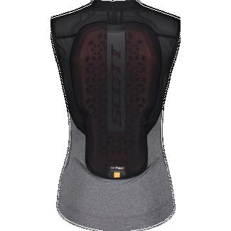 SCOTT AirFlex W's Light Protektorenweste Damen black-dark grey melange