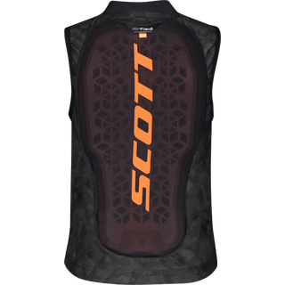 SCOTT AirFlex Jr Vest Protektorenweste Kinder dark grey-pumpkin orange