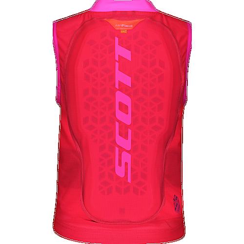 SCOTT AirFlex Jr Vest Protektorenweste Kinder high viz pink