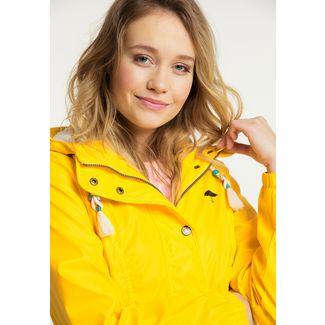 Schmuddelwedda Regenmantel Damen gelb