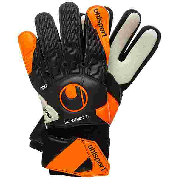 Uhlsport Super Resist HN Torwarthandschuhe Herren orange / schwarz