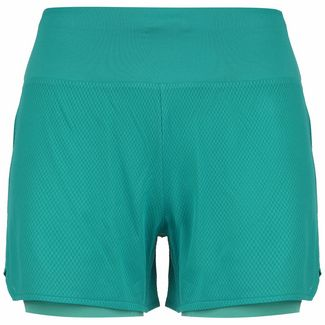 ASICS Ventilate 2-in-1 Laufshorts Damen türkis / mint