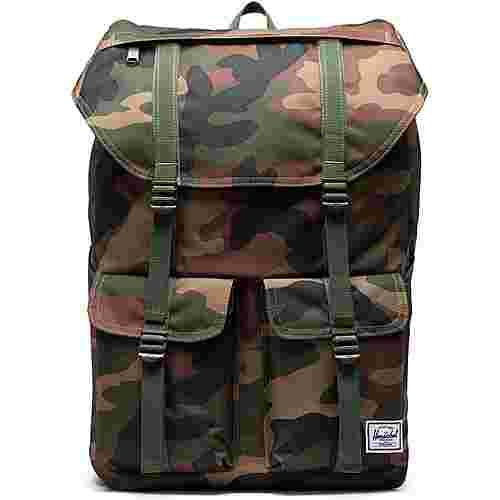 Herschel Rucksack Buckingham Daypack Herren braun / grün