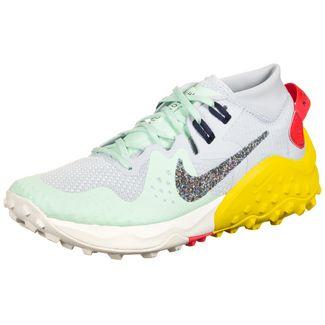 Nike Air Zoom Wildhorse 6 Trail Laufschuhe Damen mint / gelb