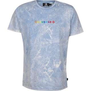 CONVERSE Converse SS Crew Treatment T-Shirt Herren blau