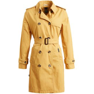 Khujo ALTHEA Trenchcoat Damen gelb