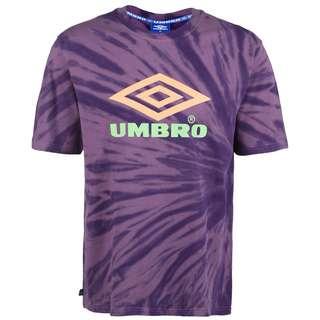 UMBRO Calidoscope T-Shirt Herren lila / neonorange