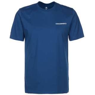 CONVERSE Converse Butterfly T-Shirt Herren blau