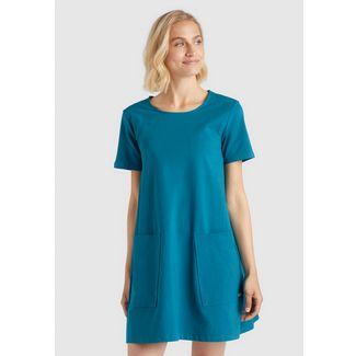 Khujo SARAI Jerseykleid Damen blau