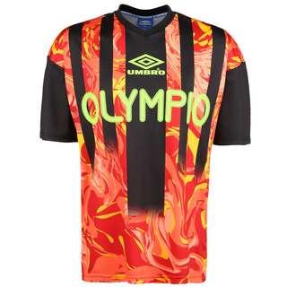 UMBRO Olympio Football Jersey Funktionsshirt Herren neonrot / neongelb