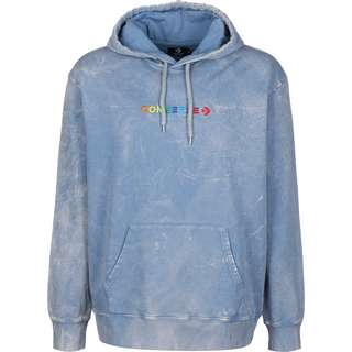 CONVERSE Converse Fleece Treatment Hoodie Herren blau
