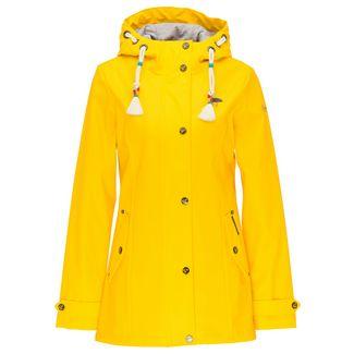 Schmuddelwedda Regenjacke Damen gelb