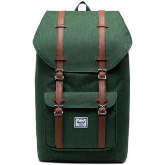 Herschel Rucksack Little Amerika Daypack Herren grün / braun