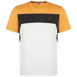 ASICS Race Laufshirt Herren weiß / orange