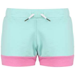 KAPPA Authentic Sand Colta Shorts Damen hellblau / rosa