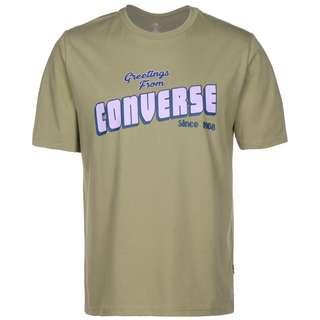 CONVERSE Converse Greetings T-Shirt Herren oliv