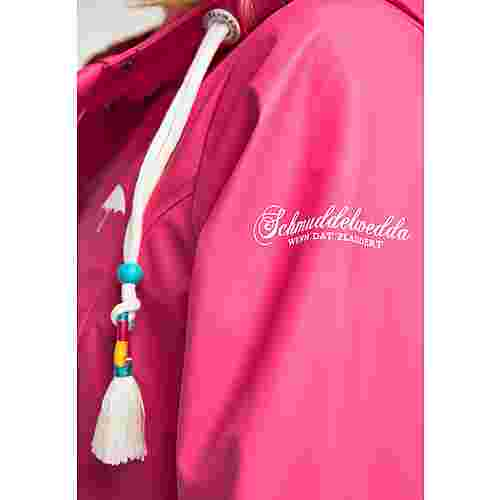 Schmuddelwedda Regenmantel Damen dunkles pink