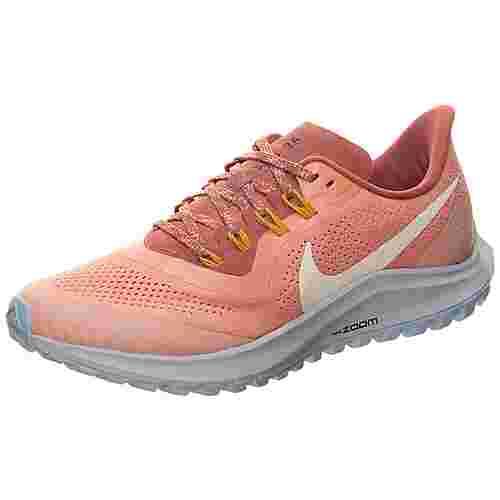 Nike Air Zoom Pegasus 36 Trail Laufschuhe Damen rosé gold / altrosa