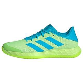 adidas Adizero Fastcourt Handballschuh Fitnessschuhe Herren Signal Green / Signal Cyan / Cloud White