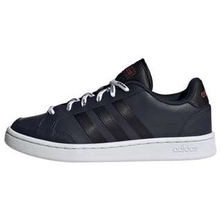 adidas Grand Court SE Schuh Sneaker Damen Legend Ink / Core Black / Legacy Red