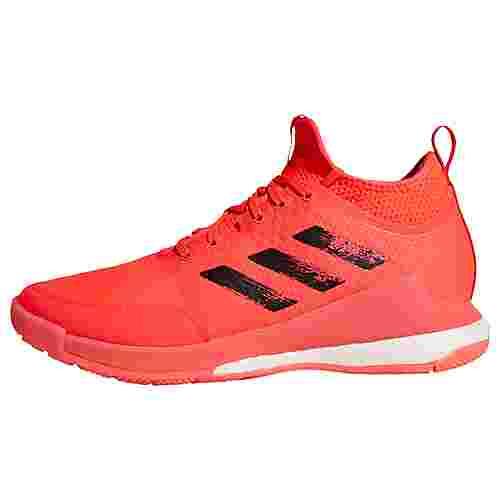 adidas Crazyflight Mid Tokyo Volleyballschuh Fitnessschuhe Damen Signal Pink / Core Black / Signal Pink