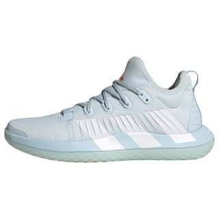 adidas Stabil Next Gen Schuh Fitnessschuhe Damen Sky Tint / Cloud White / Signal Orange