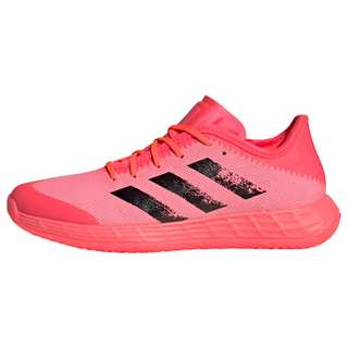 adidas Adizero Fast Court Tokyo Handballschuh Fitnessschuhe Damen Signal Pink / Core Black / Copper Metallic
