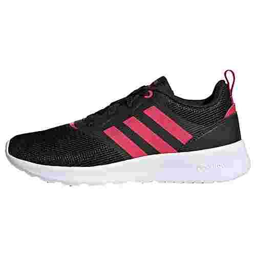 adidas QT Racer 2.0 Schuh Laufschuhe Kinder Core Black / Power Pink / Signal Pink