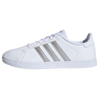 adidas Courtpoint X Schuh Tennisschuhe Damen Cloud White / Silver Metallic / Light Granite