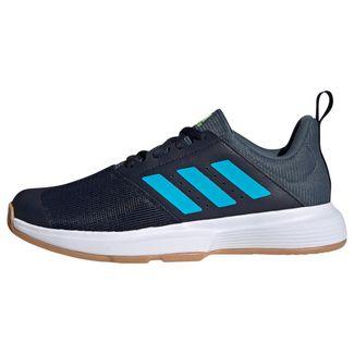 adidas Essence Indoor Schuh Fitnessschuhe Herren Legend Ink / Signal Cyan / Signal Green