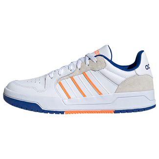 adidas Entrap Schuh Sneaker Herren Cloud White / Cloud White / Signal Orange