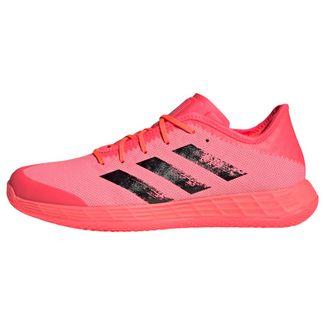 adidas Adizero Fast Court Tokyo Handballschuh Fitnessschuhe Herren Signal Pink / Core Black / Copper Metallic