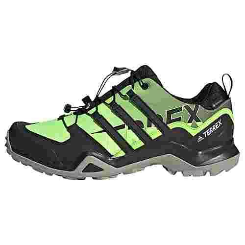 adidas GTX® TERREX Swift R2 GORE-TEX Wanderschuh Wanderschuhe Herren Signal Green / Core Black / Grey Two