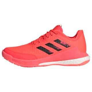 adidas Crazyflight Tokyo Volleyballschuh Fitnessschuhe Damen Signal Pink / Core Black / Signal Pink
