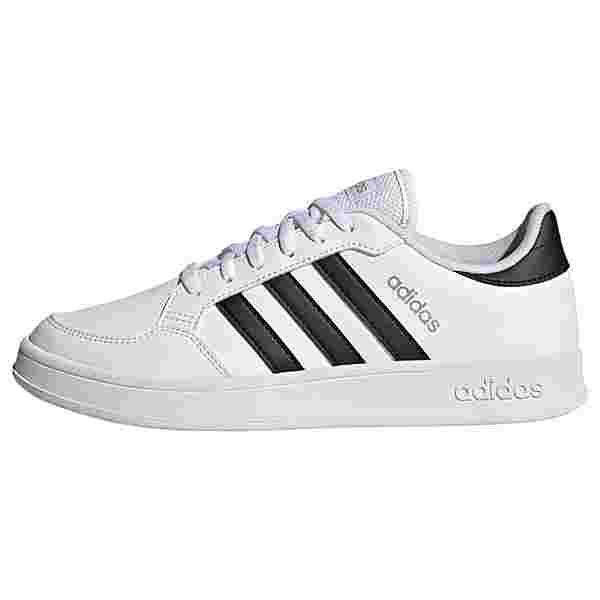 adidas Breaknet Schuh Sneaker Damen Cloud White / Core Black / Silver Metallic