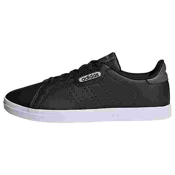 adidas Courtpoint CL X Schuh Sneaker Damen Core Black / Core Black / Grey Six