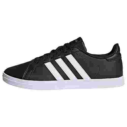 adidas Courtpoint X Schuh Sneaker Damen Core Black / Cloud White / Matte Gold