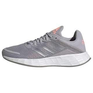 adidas Duramo SL Laufschuh Laufschuhe Kinder Glory Grey / Silver Metallic / Light Flash Orange