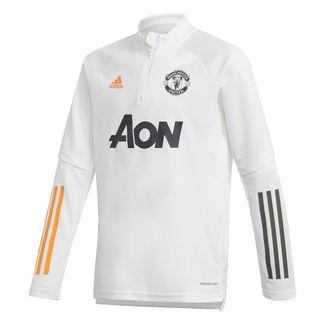 adidas Manchester United Trainingsoberteil Sweatshirt Kinder Weiß