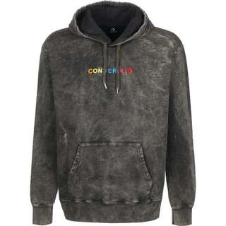 CONVERSE Converse Fleece Treatment Hoodie Herren schwarz