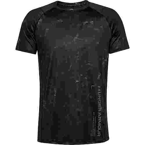Under Armour MK-1 Funktionsshirt Herren black-black