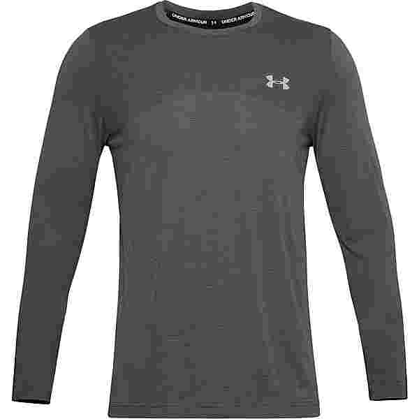 Under Armour Seamless Funktionsshirt Herren pitch gray-mod gray