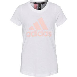 adidas YG MH BOS TEE T-Shirt Kinder white