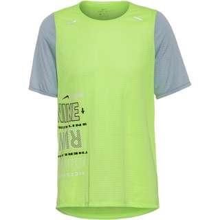 Nike Wild Run Rise 365 Funktionsshirt Herren ghost green-white-black-reflective